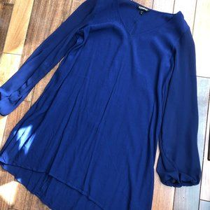 Express Bubble Long Sleeve Polyester Dress